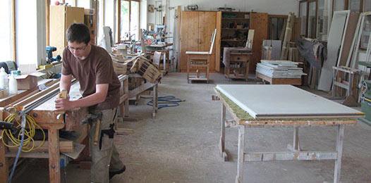 schreinerei werkstatt schreinerei lachner in kirchdorf. Black Bedroom Furniture Sets. Home Design Ideas